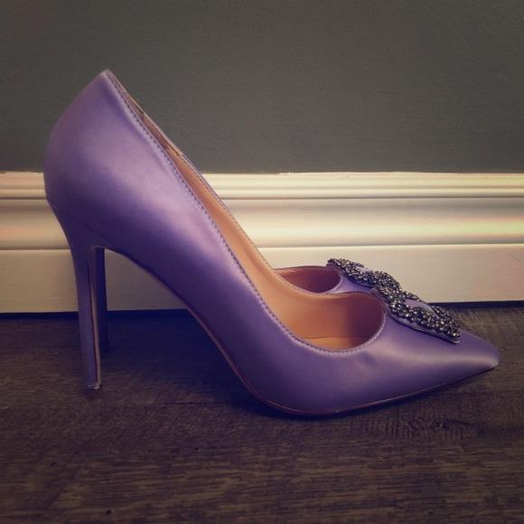 Mermaid Lilac Stilettos